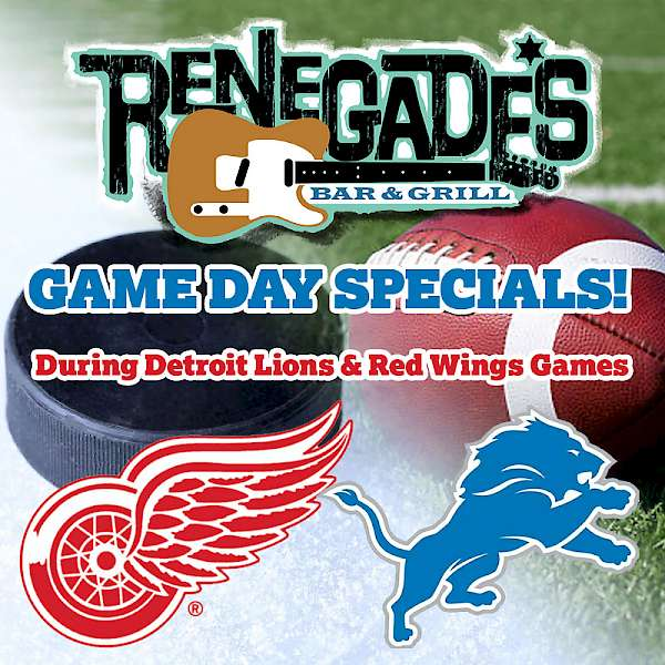 Game Day Specials!